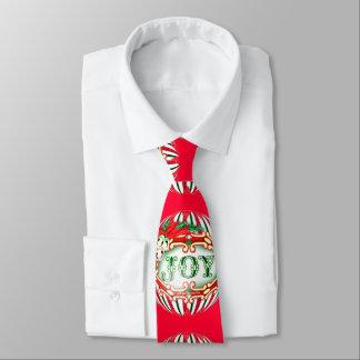 FREUDE-BALL-WEIHNACHTSCartoon Hals-Krawatte Krawatte