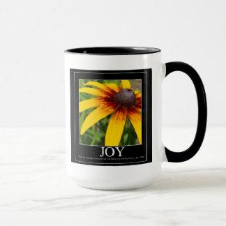 Freude Rumi motivierend Blumen-Tasse Tasse