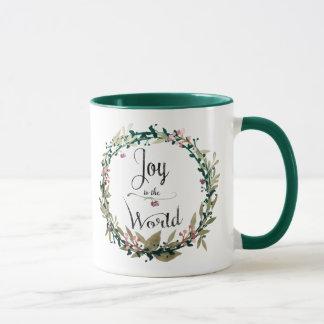 Freude zum WeltKranz Tasse