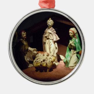Freude zur Welt Silbernes Ornament