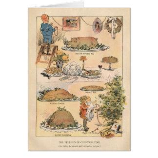 Freuden der Weihnachtszeit Karte