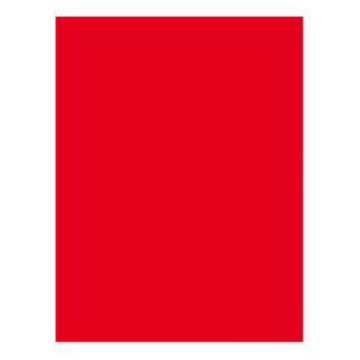 Freudig ziemlich rote Farbe Postkarte