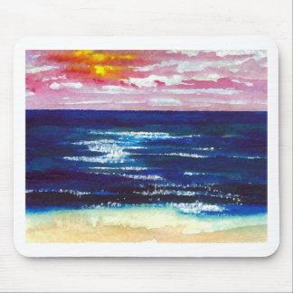 Freudige 2 - Ozean-Sonnenaufgang-Sonnenuntergang-S Mousepads