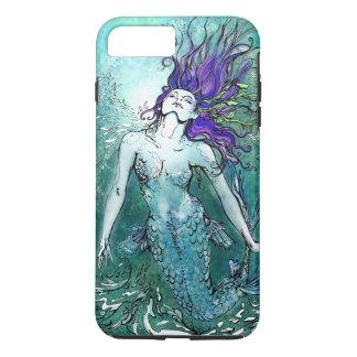 Freudige Spritzen-Meerjungfrau iPhone 7 Plus Hülle