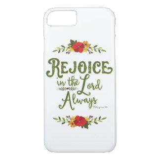 Freuen Sie sich im Telefon-Kasten 4:4 Lords Always iPhone 8/7 Hülle