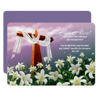 Freuen Sie sich. Kundengerechte Ostern-Karten 12,7 X 17,8 Cm Einladungskarte
