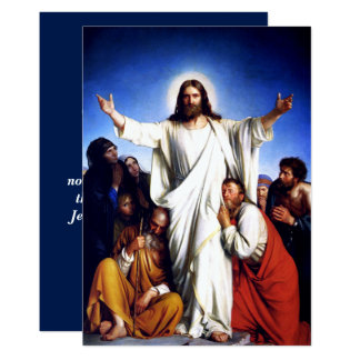 Freuen Sie sich. Kunst-kundengerechte Ostern-Karte 12,7 X 17,8 Cm Einladungskarte