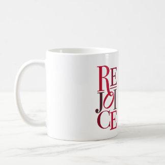 Freuen Sie sich Weihnachtsfeiertags-Tasse Kaffeetasse