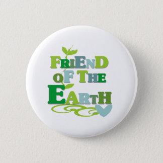 Freund der Erde Runder Button 5,7 Cm