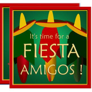 Freund-Fiesta-Party Einladung