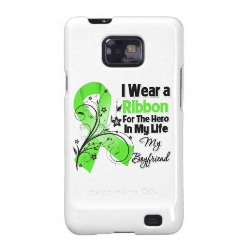 Freund-Held in meinem Leben-Lymphom-Band Samsung Galaxy S2 Case