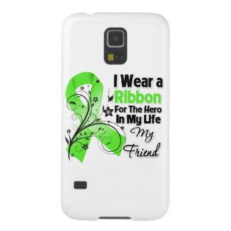 Freund-Held in meinem Leben-Lymphom-Band Samsung Galaxy S5 Hülle