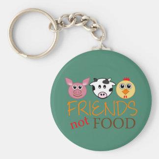 Freund-nicht Nahrung Schlüsselanhänger