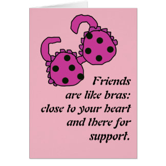 Freund sind wie BH Karte