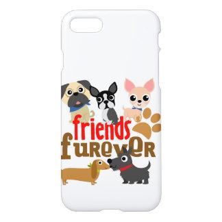 Freunde Furever verfolgt Welpen iPhone 8/7 Hülle