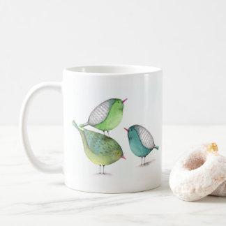 Freunde sind Familie, die Sie Typografie wählen Kaffeetasse
