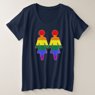Freundinnen Große Größe T-Shirt