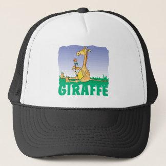 Freundliche Giraffe Truckerkappe