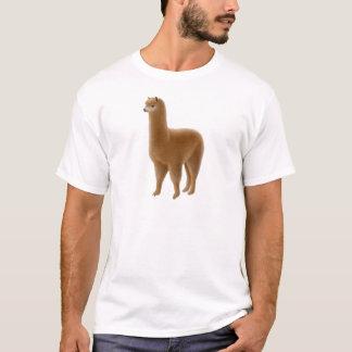 Freundlicher Brown-Alpaka-T - Shirt