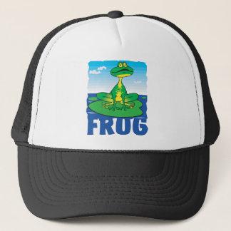 Freundlicher Frosch Truckerkappe