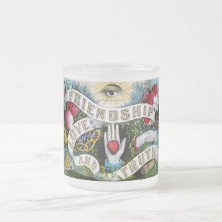 Freundschafts-Liebe-Wahrheits-Malerei Mattglastasse