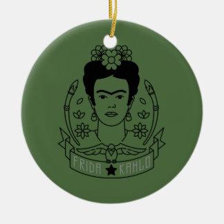 Frida Kahlo | Heroína Keramik Ornament