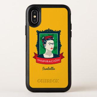 Frida Kahlo | Inspiración OtterBox Symmetry iPhone X Hülle