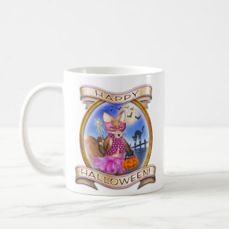 Frieda Schwanz-Halloween-Tasse Kaffeetasse