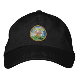 Frieda Schwänze - schwarze Baseballmütze Bestickte Kappe