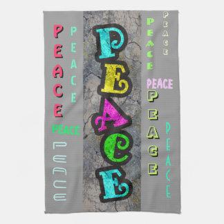 Frieden Geschirrtuch