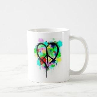 Frieden in der Liebe Kaffeetasse