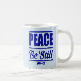 Frieden ist noch christliche Kaffee-Tasse Kaffeetasse