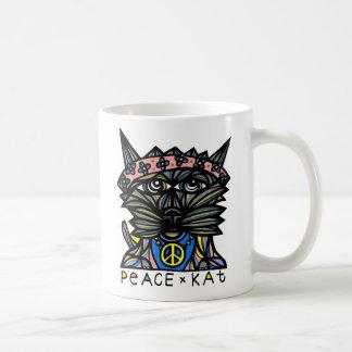 """Frieden Kat"" 11 Unze-Klassiker-Tasse Tasse"