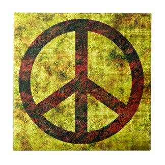 Frieden Kleine Quadratische Fliese