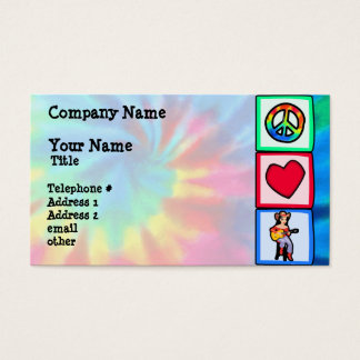 Frieden, Liebe, Countrymusik Visitenkarte