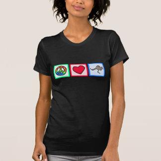 Frieden, Liebe, Kängurus T-Shirt