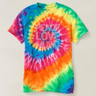 Frieden - Liebe - kundenspezifische Text-Shirts u. T-shirt