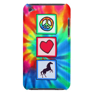 Frieden, Liebe, Pferde iPod Touch Etuis