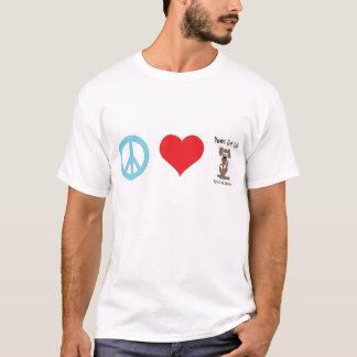 Frieden/Liebe/Tatzen für das Leben T-Shirt