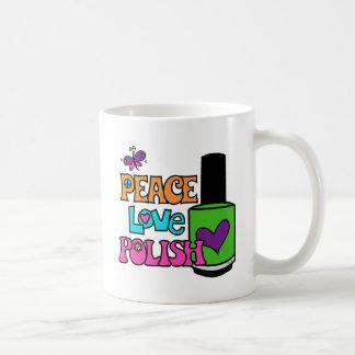 Frieden, Liebe u. Polnisches Kaffeetasse