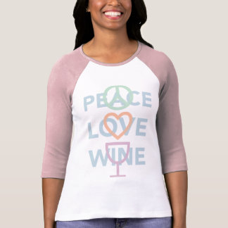 Frieden, Liebe und Wein T-Shirt