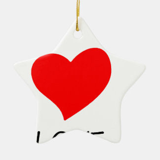 Frieden love35 keramik ornament