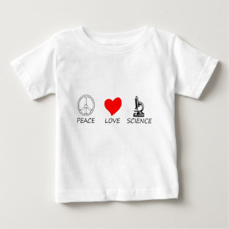 Frieden love3 baby t-shirt