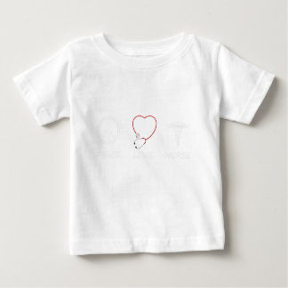 Frieden love43 baby t-shirt
