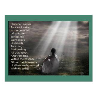 Frieden mit Gott Postkarte