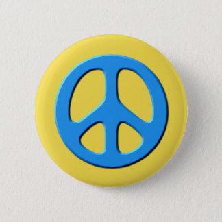 Frieden Runder Button 5,7 Cm