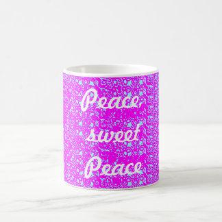 Frieden, süßer Frieden Kaffeetasse
