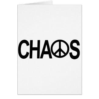 Frieden und Chaos Karte