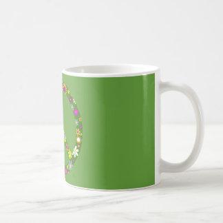 Frieden und Liebe Tasse