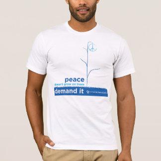 Frieden wächst nicht auf Bäumen T-Shirt